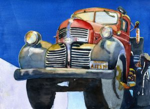 California Dreamin' 11X15 Watercolor $395